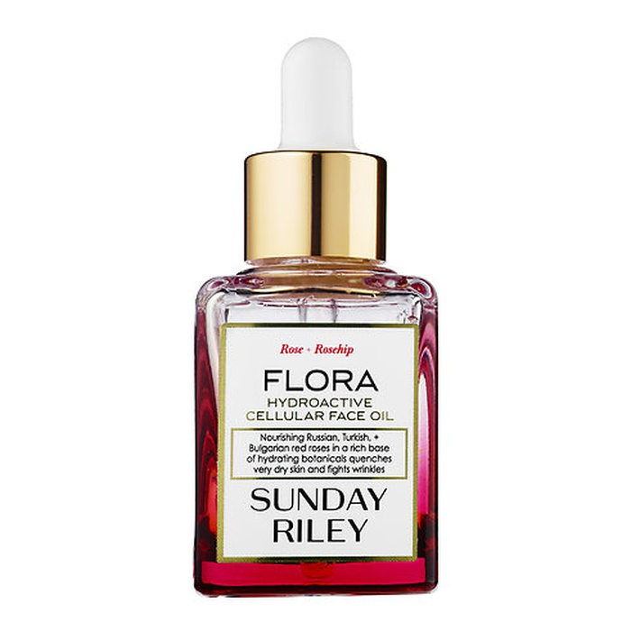 Best Vegan Skincare Products - Sunday Riley Flora Hydroactive Cellular Face Oil