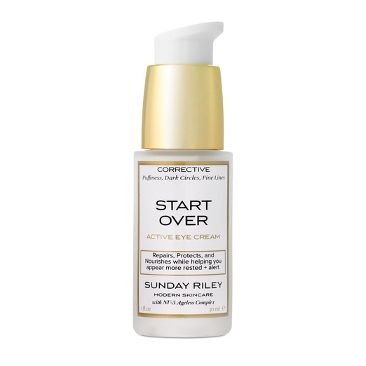 Best Natural Eye Creams - Sunday Riley Start Over Active Eye Cream
