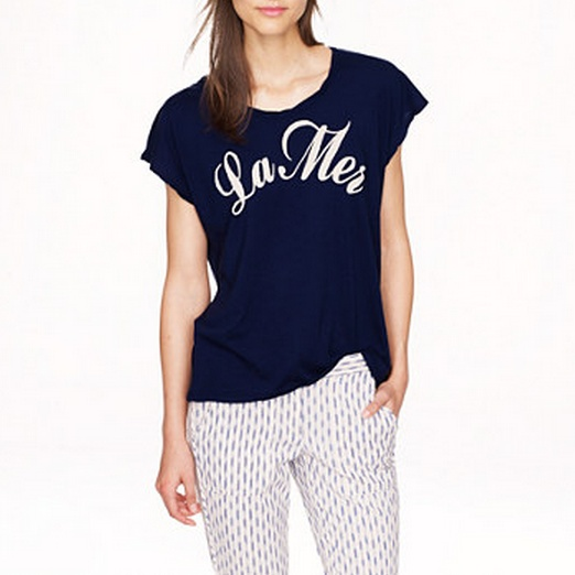 Best Summer Graphic Tees - Sundry™ for J.Crew La Mer Tee