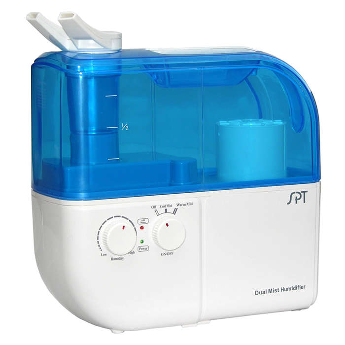 Best Humidifiers - Sunpentown Ultrasonic Dual-Mist Warm/Cool Humidifier