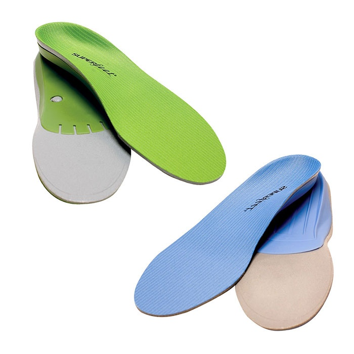 Best Insoles and Shoe Pads - Superfeet 'Performance Green' & 'Active Blue' Insoles