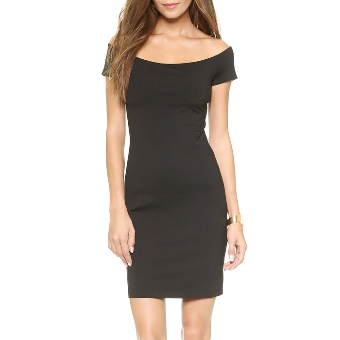 Best Spring LBDs Under $200 - Susana Monaco Keira Off the Shoulder Dress