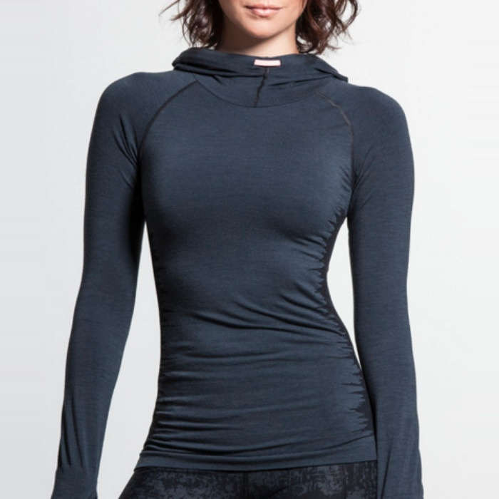 Best Cold Weather Workout Tops - Sweaty Betty Intensify Merino Seamless Top