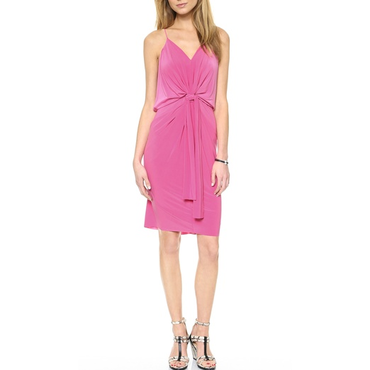 Best Date Night Dresses - T-Bags Knot Front Knee Length Dress