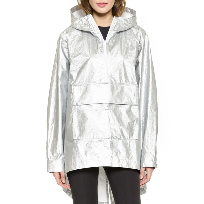 Best Spring Anoraks - T by Alexander Wang Laminated Tyvek Hooded Anorak