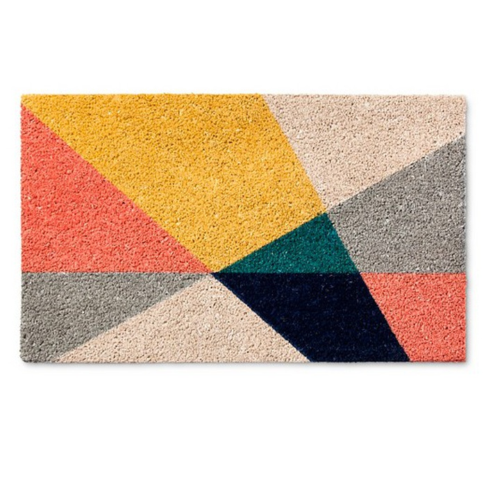 Best Doormats - Room Essentials Geo Triangles Doormat