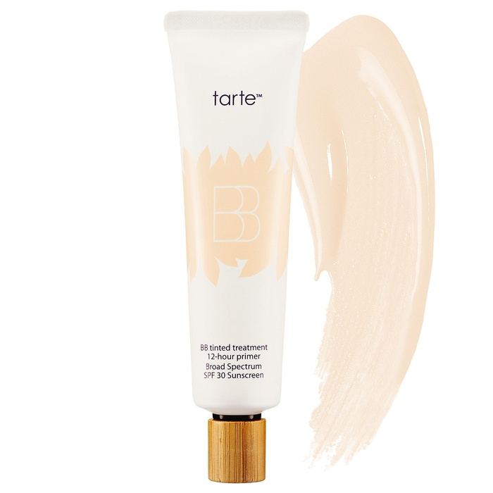 Best Oil-Free Tinted Moisturizers - Tarte BB Tinted Treatment 12-Hour Primer Broad Spectrum SPF 30 Sunscreen
