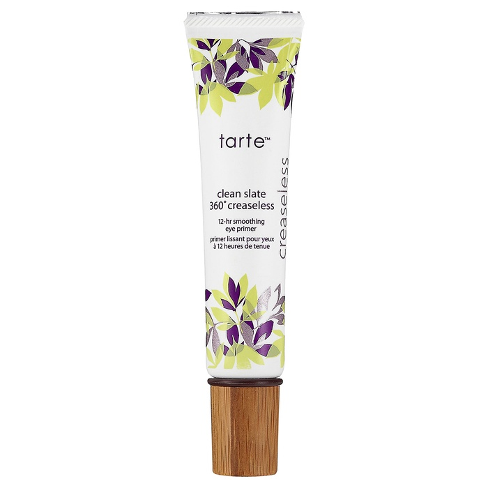 Best Eyeshadow Primers - Tarte Clean Slate 360 Creaseless 12-Hour Smoothing Eye Primer