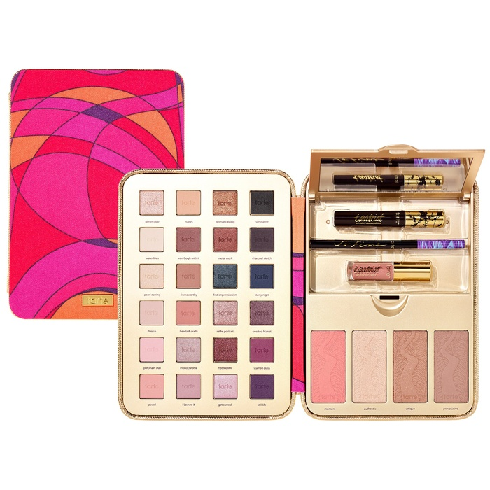 Best Glam Makeup Palettes - tarte Pretty Paintbox Collector's Makeup Case