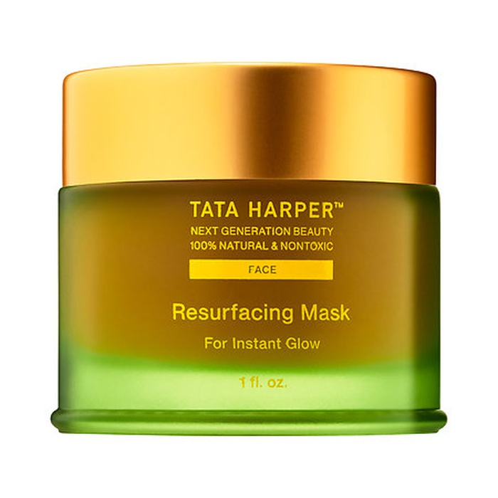 Best Vegan Skincare Products - Tata Harper Resurfacing Mask