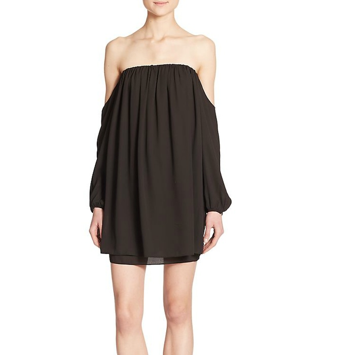 Best Spring LBDs Under $200 - Tbags Los Angeles Off Shoulder Dress