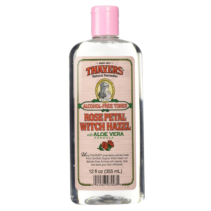 Best Toners For Combination Skin - Thayers Rose Petal Witch Hazel with Aloe Vera