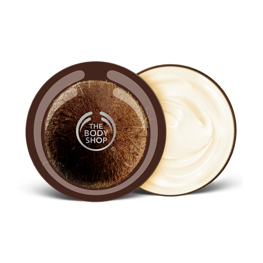 Best Natural Body Creams - The Body Shop Coconut Body Butter