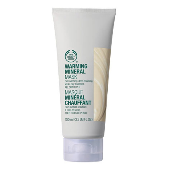 Best Warming Body Treatments - The Body Shop Warming Mineral Mask