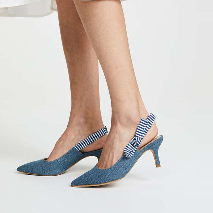 The Fix Fatina Kitten Heel Slingback Pump