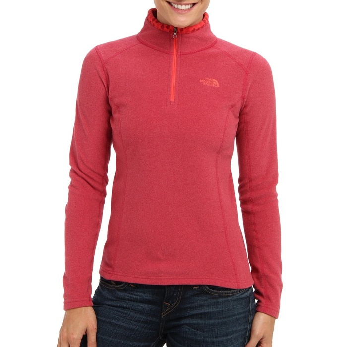 Best Cold Weather Workout Tops - The North Face Glacier 1/4 Zip