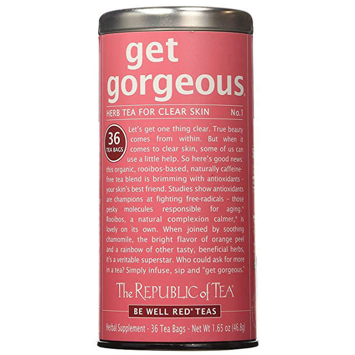 Best Teas for Glowing Skin - The Republic of Tea Get Gorgeous Herb Tea For Clear Skin