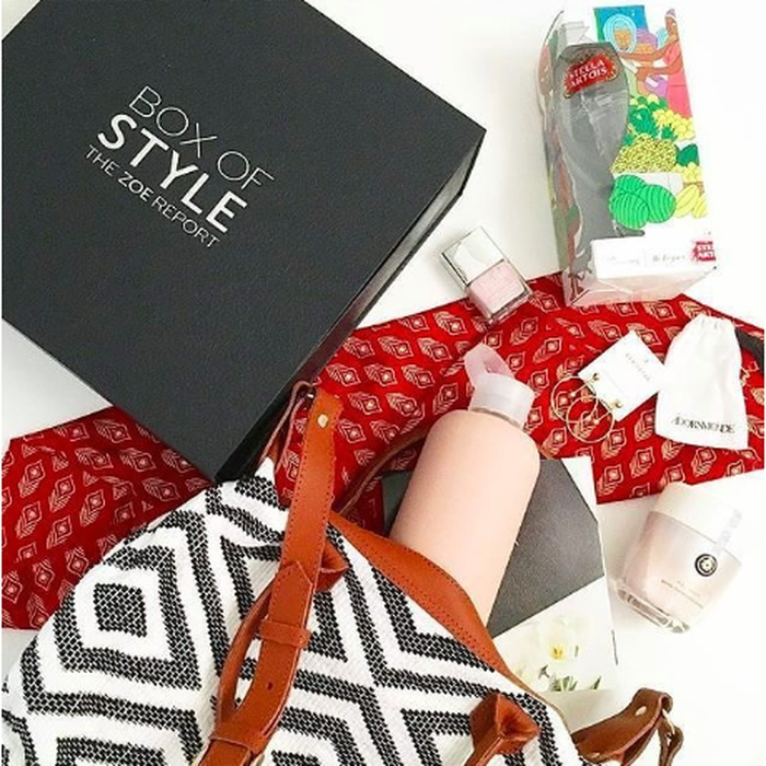 Best Subscription Boxes - The Zoe Report Box of Style