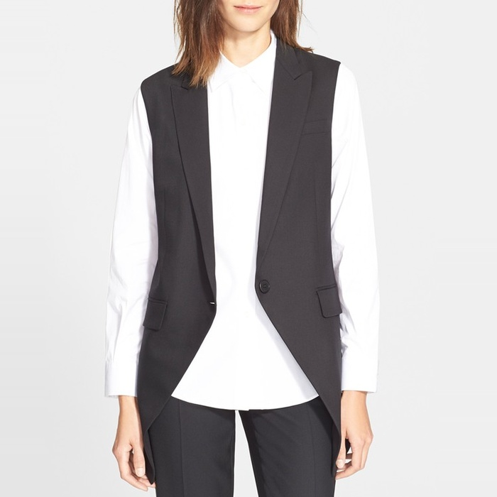 Best Long Vests - Theory Flavio Vest