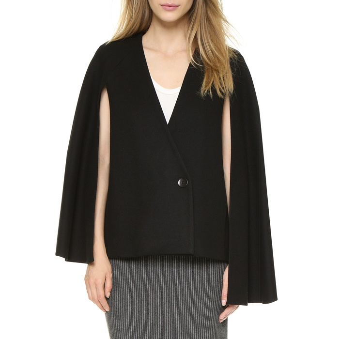 Best Cape Coats and Blazers - Tibi Asymmetrical Cape Blazer