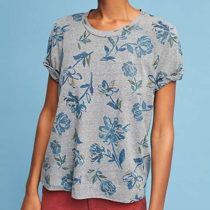 Best Anthropologie Styles - T.La Exploration Tee