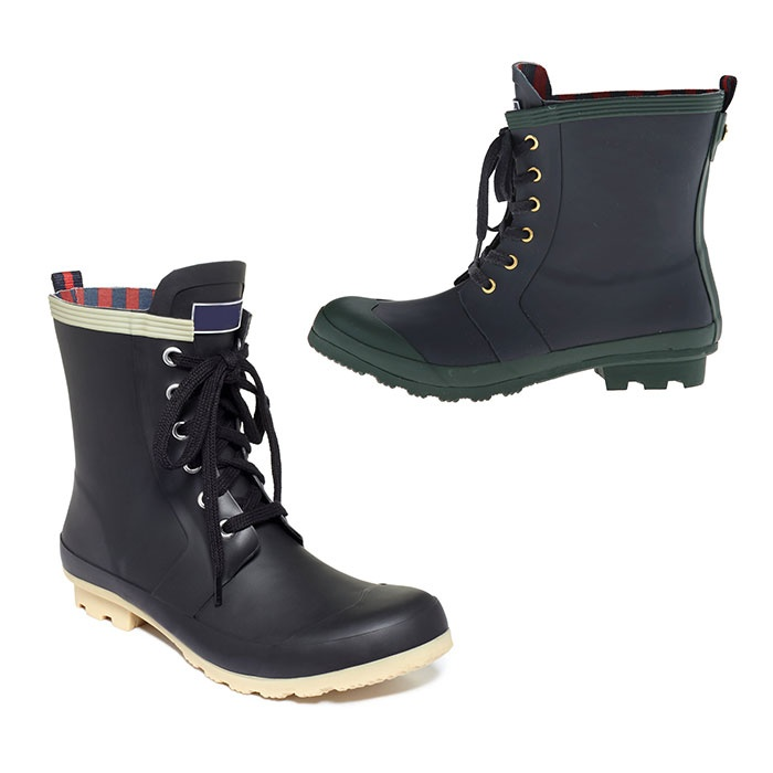 Best Rain Booties - Tommy Hilfiger Renegade in Marin/Forest and Black