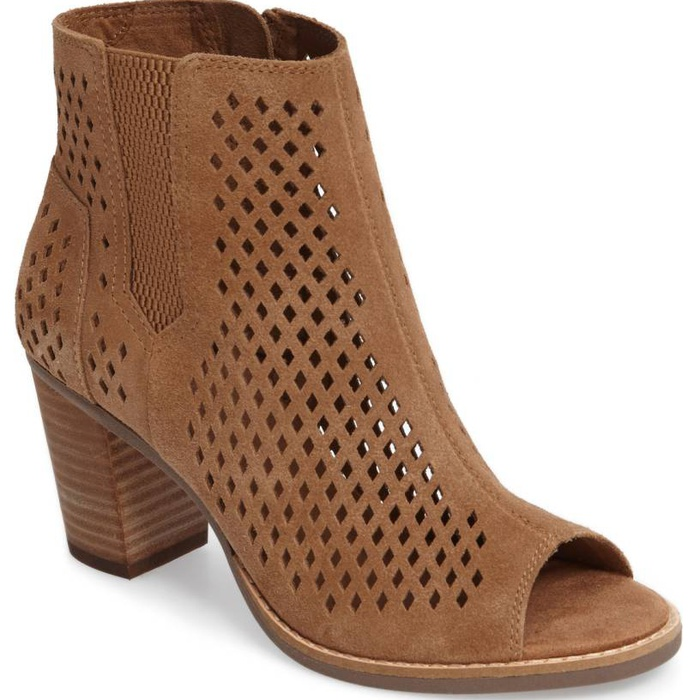Mary Powers of Miss Mary Powers - Toms Majorca Peep Toe Bootie