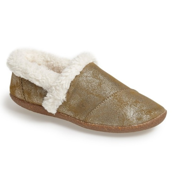 Best Dream inducing presents - TOMS Metallic Classic Slipper