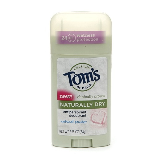 Best Deodorants - Tom's of Maine Naturally Dry Stick Antiperspirant