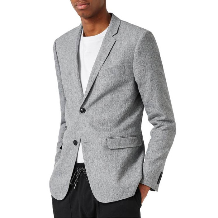 Best Men's Casual Blazers and Sports Coats - Topman Crossweave Texture Skinny Fit Sport Coat