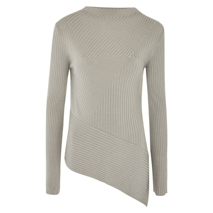 Best Fall Fashion Finds on Sale - Topshop Asymmetrical Ribbed Sweater