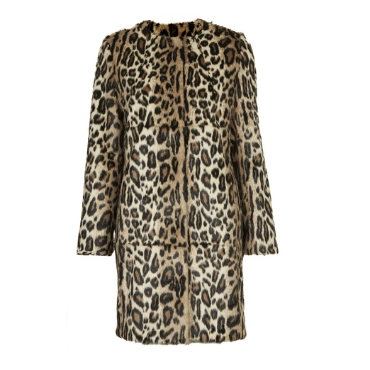 Best Leopard Prints That are the Cat's Meow - Topshop Faux Fur Animal Print Coat