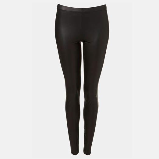 Best Faux Leather Leggings - Topshop Faux Leather Leggings