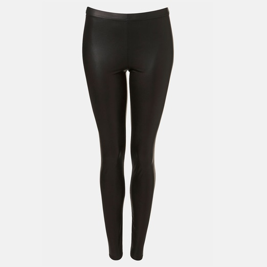 Best Ten Winter Date Night Musts - Topshop Faux Leather Leggings
