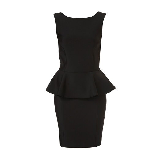 Best Peplum Dresses - Topshop Peplum Scuba Pencil Dress