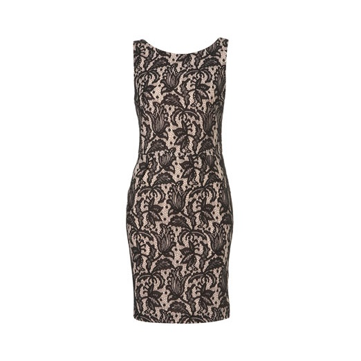 Best Lace Dresses - Topshop Sleeveless Bonded Lace Pencil Dress