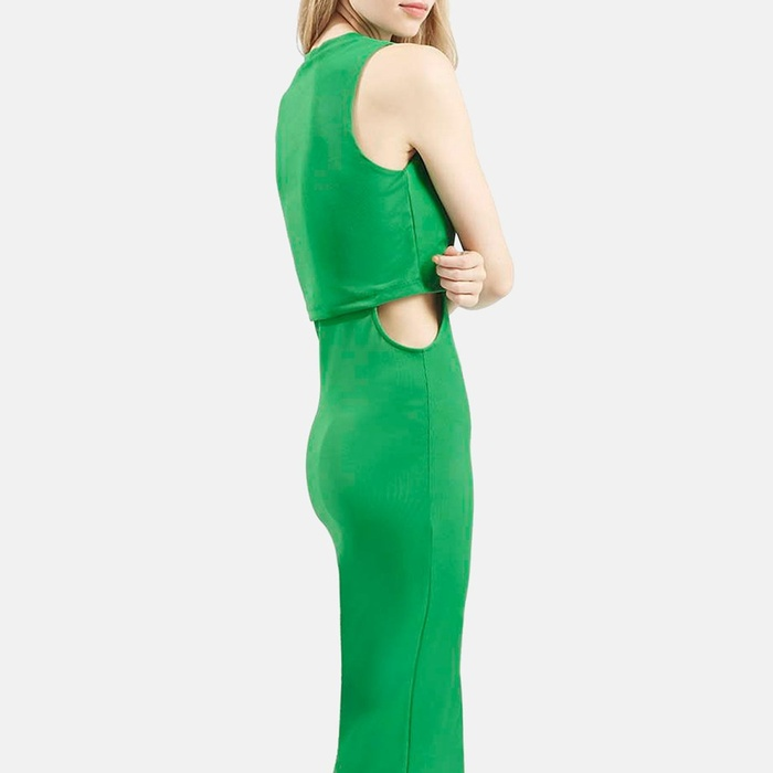 Best Cut Out Dresses Under $300 - Topshop Sleeveless Cutout Midi Dress