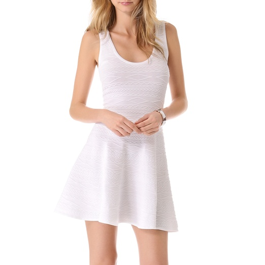 Best White Dresses - Torn by Ronny Kobo Luciana Dress in White