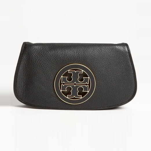 Best Summer Clutches - Tory Burch Amanda Logo Clutch