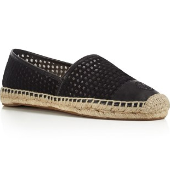 Best Espadrilles for Summer - Tory Burch Grenada Mesh Espadrille Flats