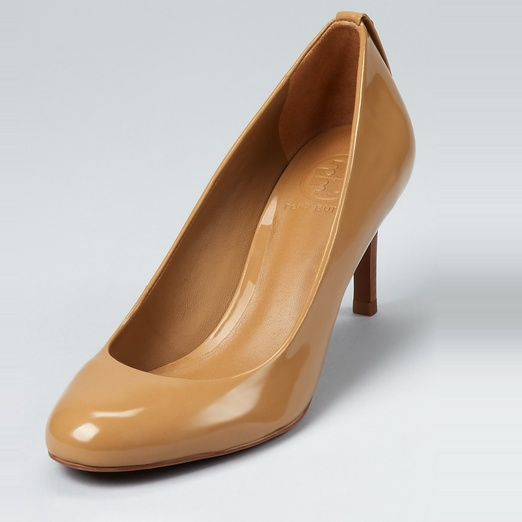 Best Nude Pumps - Tory Burch Leah Mid Heel Pump