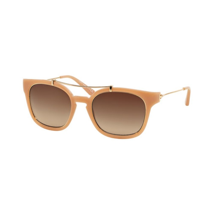 Best Brow Bar Sunglasses - Tory Burch Metal/Nylon Square Sunglasses