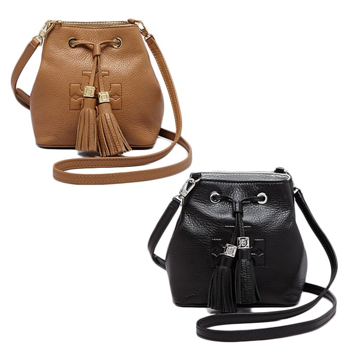 Best Mini Cross Body Bags Under $250 - Tory Burch Thea Mini Bucket Cross-Body