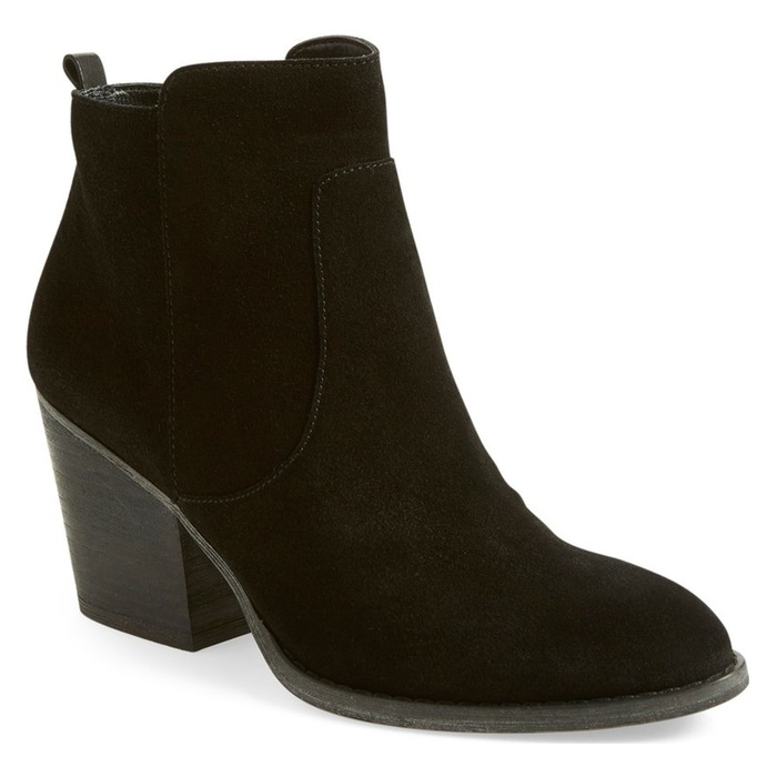 Best Block Heeled Booties Under $150 - Treasure&Bond Winsor Block Heel Bootie