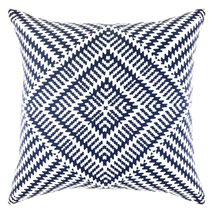 Best Throw Pillows Under $50 - TreeWool Soft Cotton Kaleidoscope Accent Decorative Throw Pillowcases