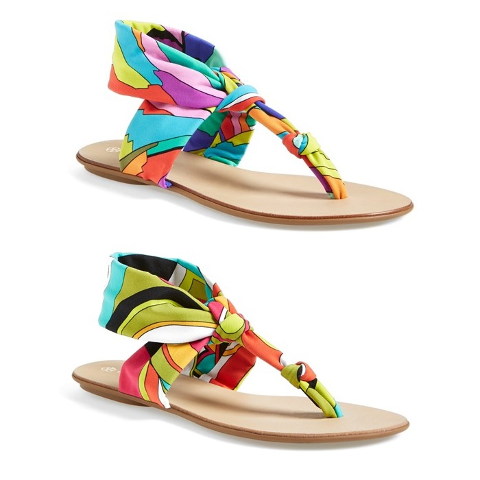Best Winter Beach Break Shoes - Trina Turk Titus Thong Sandal