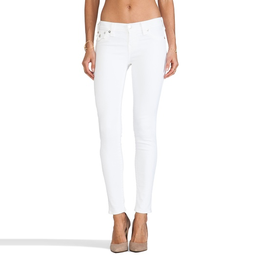 Best White Skinny Jeans - True Religion Serena Legging Jean in Optic White