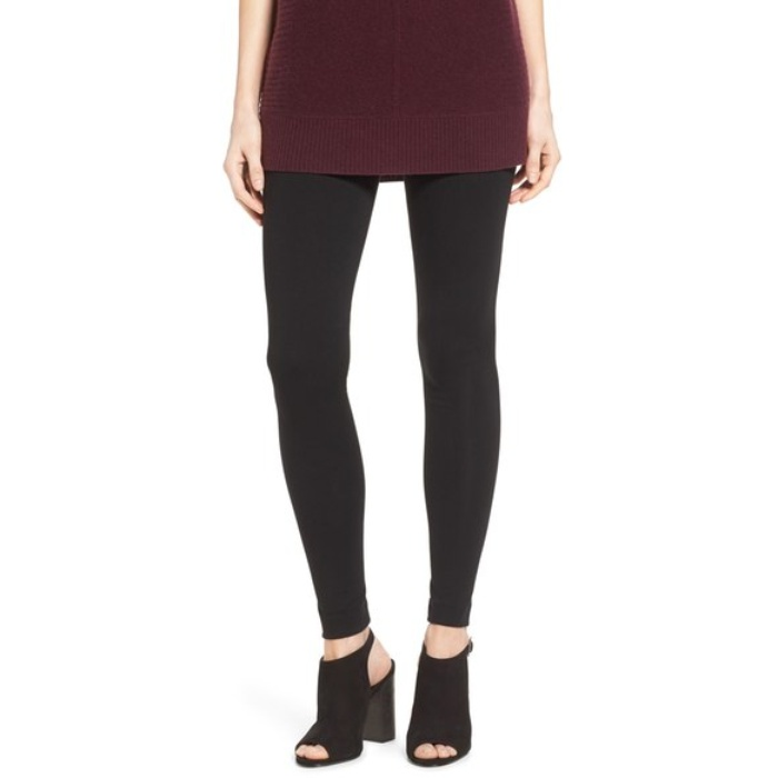 Best Black Leggings - Two by Vince Camuto Seamed Back Leggings