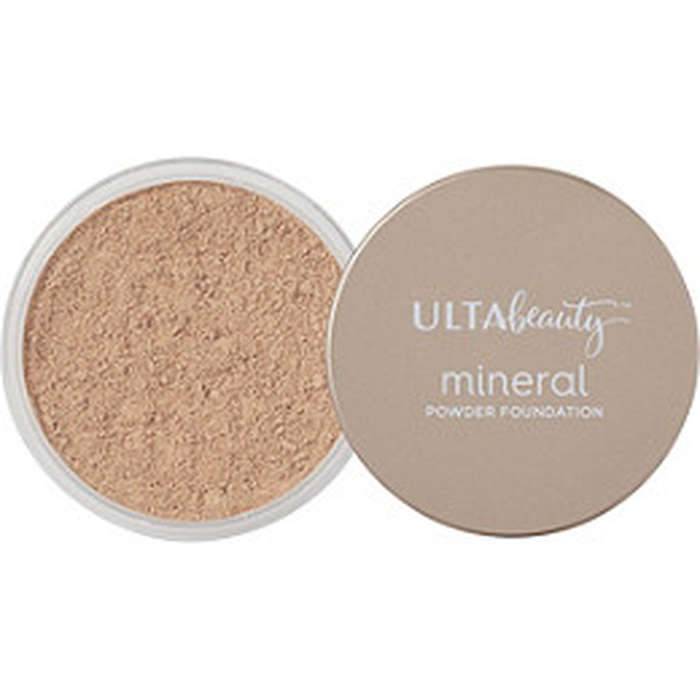 Best Drugstore Foundations - Ulta Mineral Powder Foundation