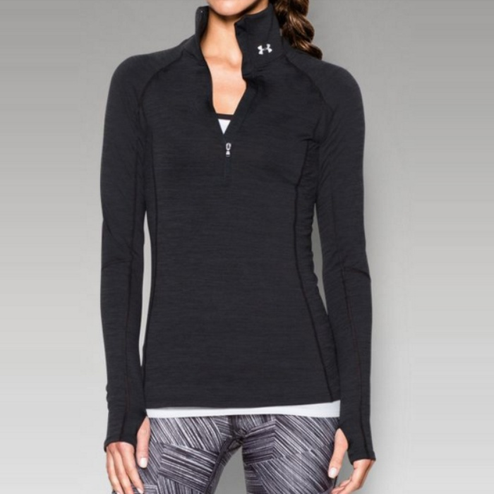 Best Cold Weather Workout Tops - Under Armour ColdGear Cozy Half Zip